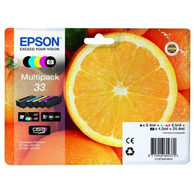 Tusze oryginalne T3337 do Epson (C13T33374010) (komplet)