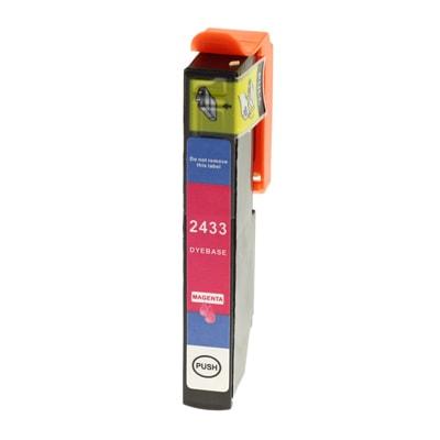 Tusz zamiennik T2433 do Epson (C13T24334010) (Purpurowy)