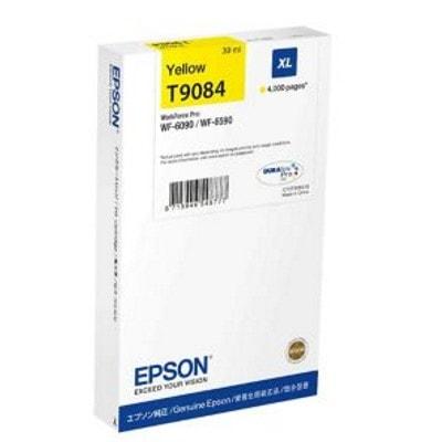 Tusz oryginalny T9084 do Epson (C13T908440) (Żółty)