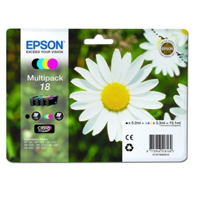 Tusze oryginalne T1806 do Epson (C13T18064012) (komplet)