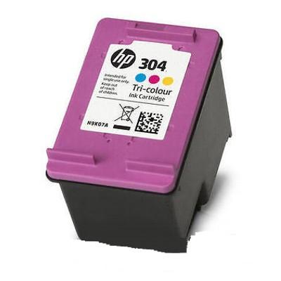 Regeneracja tusz 304 do HP (N9K05AE) (Kolorowy)