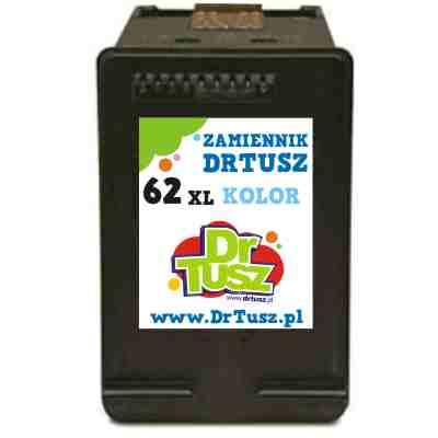Tusz zamiennik 62 XL do HP (C2P07AE) (Kolorowy)