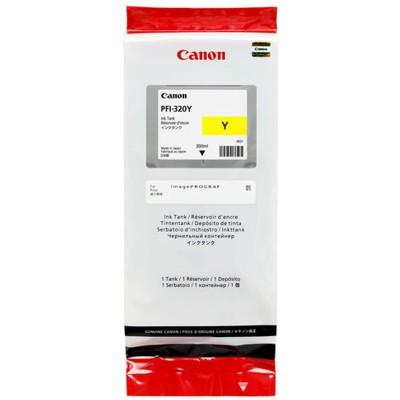 Tusz oryginalny PFI-320Y do Canon (2893C001) (Żółty)