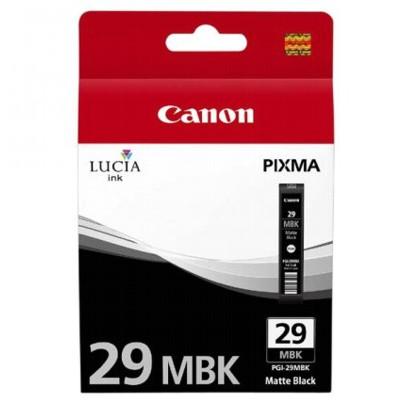 Tusz oryginalny PGI-29MBK do Canon (4868B001) (Czarny matowy)