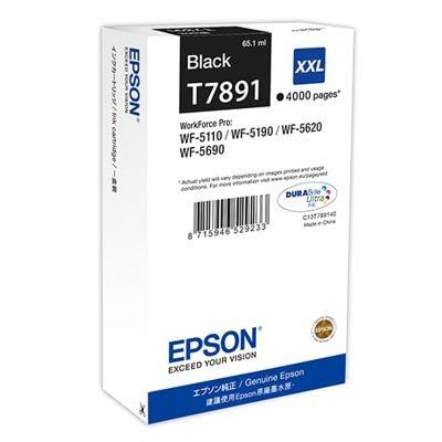 Tusz oryginalny T7891 do Epson (C13T789140) (Czarny)