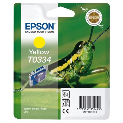 Tusz oryginalny T0334 do Epson (C13T03344010) (Żółty)