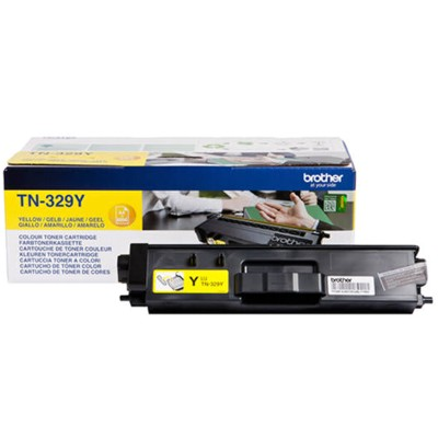 Toner oryginalny TN-329Y do Brother (TN329Y) (Żółty)