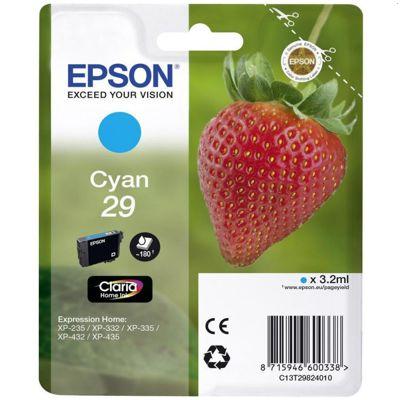 Tusz oryginalny T2982 do Epson (C13T29824010) (Błękitny)