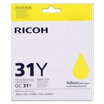 Tusz oryginalny GC-31Y do Ricoh (405691) (Żółty)