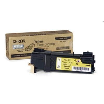 Toner oryginalny 6125Y do Xerox (106R01337) (Żółty)