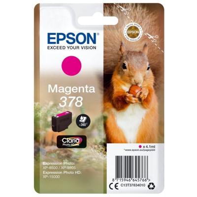 Tusz oryginalny 378 do Epson (C13T37834010) (Purpurowy)