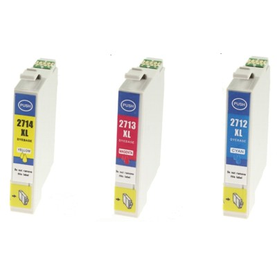Tusze zamienniki 27xl do Epson (C13T271540) (trójpak)