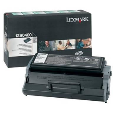 Toner oryginalny 12S0400 do Lexmark (12S0400) (Czarny)