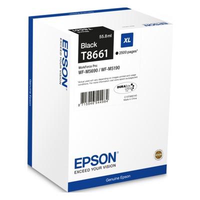 Tusz oryginalny T8661 do Epson (C13T866140) (Czarny)