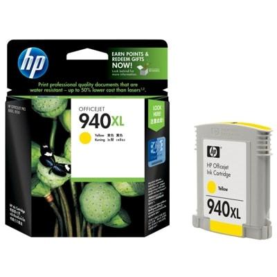 Tusz oryginalny 940 XL do HP (C4909AE) (Żółty)