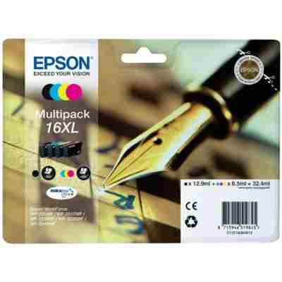 Tusze oryginalne T1636 (16XL) do Epson (C13T16364010) (komplet)