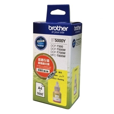 Tusz oryginalny BT-5000 Y do Brother (BT5000Y) (Żółty)