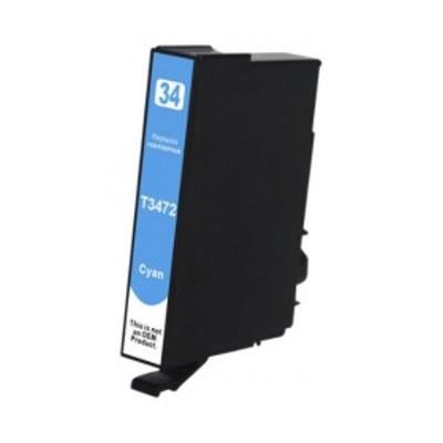Tusz zamiennik 34xl do Epson (T3472) (Błękitny)