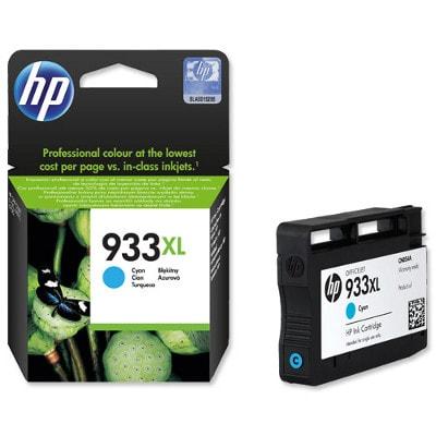 Tusz oryginalny 933 XL do HP (CN054AE) (Błękitny)