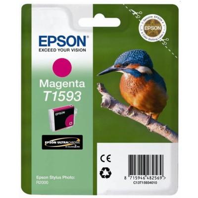 Tusz oryginalny T1593 do Epson (T15934010) (Purpurowy)