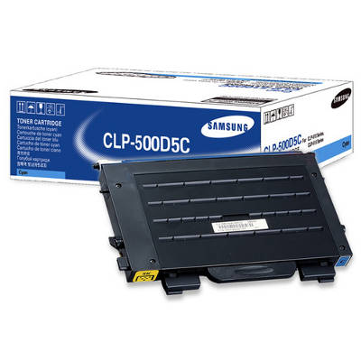 Toner oryginalny CLP-500D5C do Samsung (CLP-500D5C) (Błękitny)
