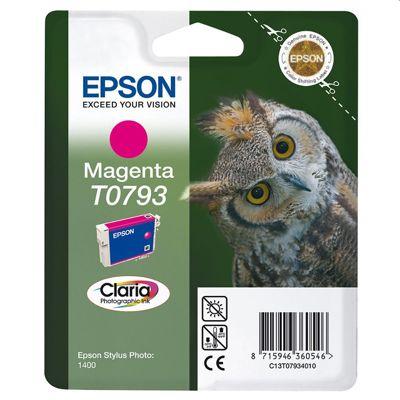 Tusz oryginalny T0793 do Epson (C13T07934010) (Purpurowy)