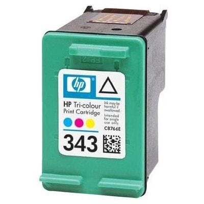 Regeneracja tusz 343 do HP (C8766EE) (Kolorowy)