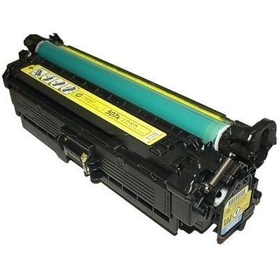 Regeneracja toner 507A do HP (CE402A) (Żółty)