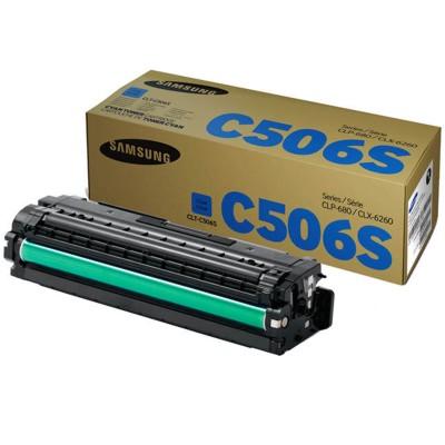 Toner oryginalny CLT-C506S 1,5K do Samsung (SU047A) (Błękitny)