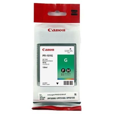 Tusz oryginalny PFI-101G do Canon (0890B001) (Zielony)
