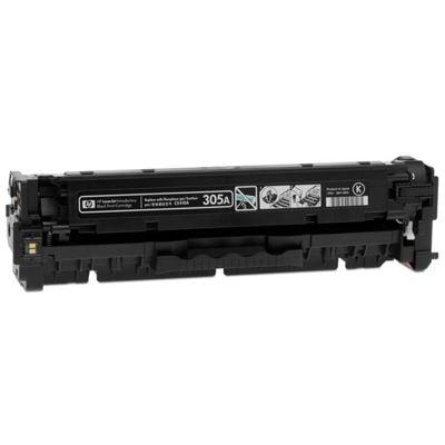Regeneracja toner 305A do HP (CE410A) (Czarny)