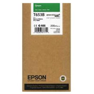 Tusz oryginalny T653B do Epson (C13T653B00) (Zielony)