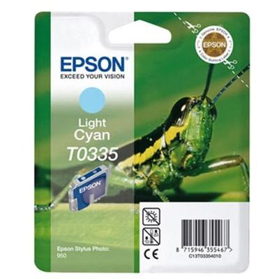Tusz oryginalny T0335 do Epson (C13T03354010) (Jasny błękitny)