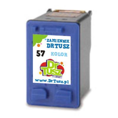 Tusz zamiennik 57 do HP (C6657AE) (Kolorowy)
