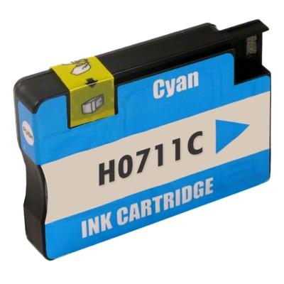 Tusz zamiennik 711 do HP (CZ130A) (Błękitny)