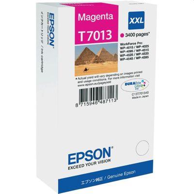 Tusz oryginalny T7013 do Epson (C13T70134010) (Purpurowy)