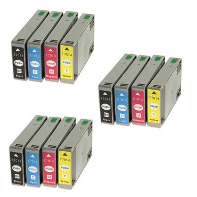 3x Tusze zamienniki T7015 do Epson (C13T071540A0) (komplet)