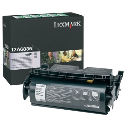 Toner oryginalny 12A6835 do Lexmark (12A6835 ) (Czarny)