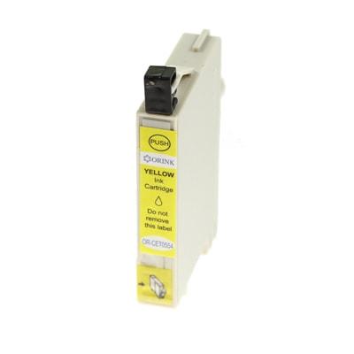 Tusz zamiennik T0554 do Epson (C13T05544010) (Żółty)