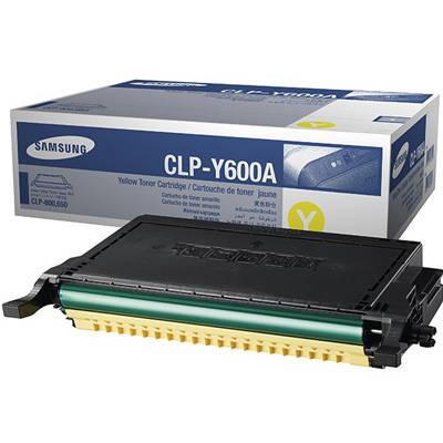 Toner oryginalny CLP-Y600A do Samsung (CLP-Y600A) (Żółty)