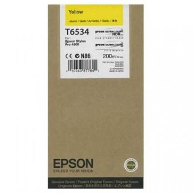 Tusz oryginalny T6534 do Epson (C13T653400) (Żółty)