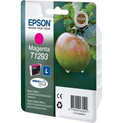 Tusz oryginalny T1293 do Epson (C13T12934010) (Purpurowy)