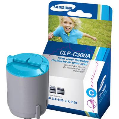 Toner oryginalny CLP-C300A do Samsung (CLP-C300A) (Błękitny)