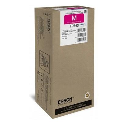 Tusz oryginalny T9743 do Epson (C13T974300) (Purpurowy)