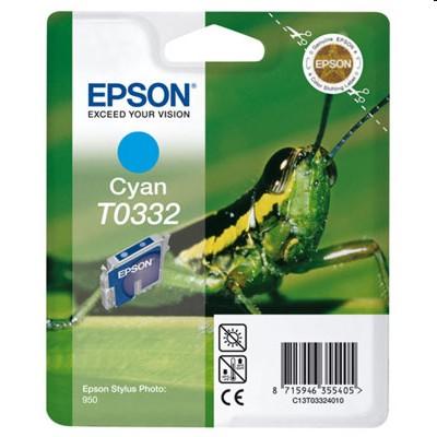 Tusz oryginalny T0332 do Epson (C13T03324010) (Błękitny)