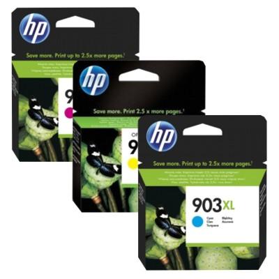 Tusze oryginalne 903 XL do HP (1CC20AE) (trójpak)