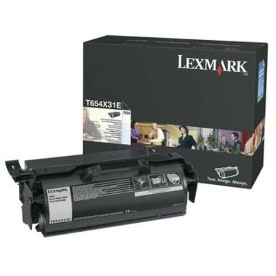 Toner oryginalny T654X31E do Lexmark (T654X31E) (Czarny)