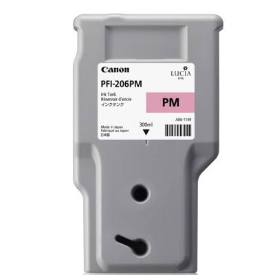 Tusz oryginalny PFI-206PM do Canon (5308B001AA) (Purpurowy Foto)