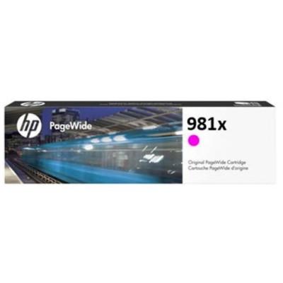 Tusz oryginalny 981X do HP (L0R10A) (Purpurowy)