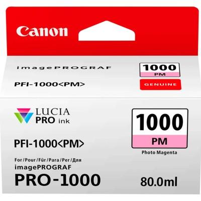 Tusz oryginalny PFI-1000PM do Canon (0551C001) (Purpurowy Foto)
